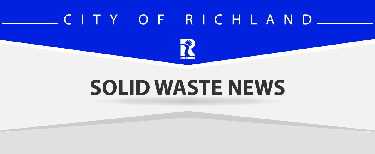 Richland Drop Box Recycling Changes