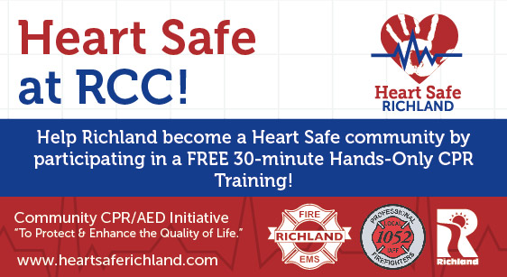 heart safe training at richland community center